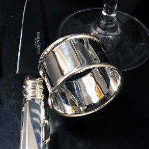 Servietringe i sølv