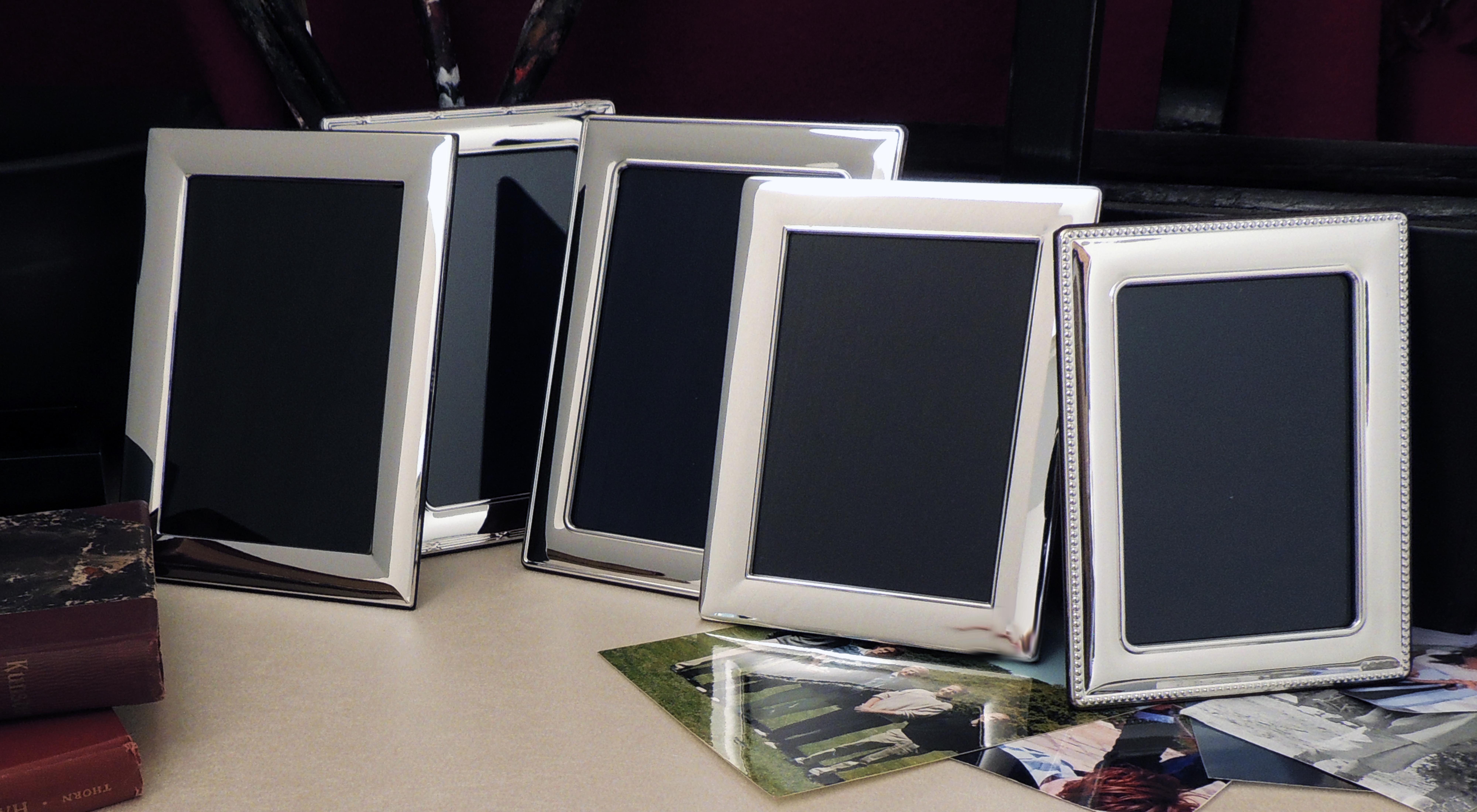 Stor Fotorammer i sølv - English Silver House TY-13